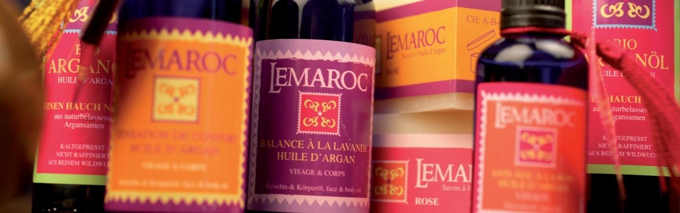 Lemaroc Arganöl Sortiment